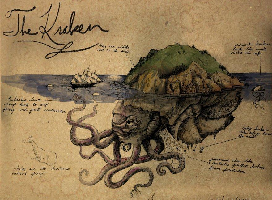 10 странных и жутких тварей из скандинавских легенд