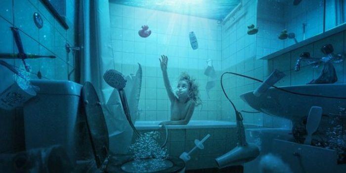 Джон Вильгельм создает удивительные изображения своих детей
