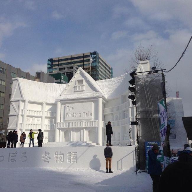Открылся ежегодный Фестиваль снега в японском городе Саппоро