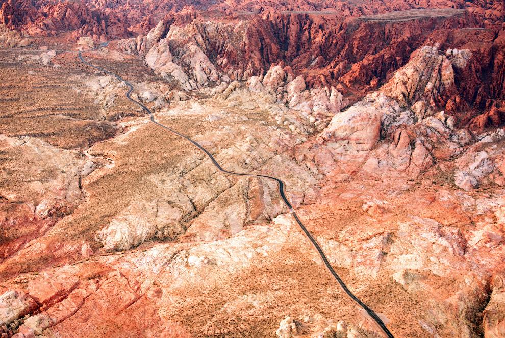 Завораживающие североамериканские ландшафты с высоты
