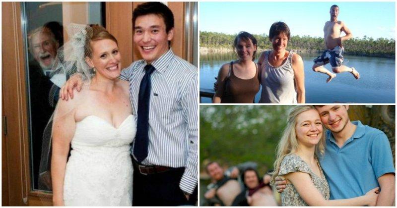 Отцовские фотобомбы: как испорть селфи или свадебную фотографию