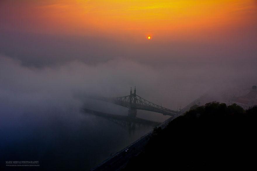 Совершенное освещение и настоящая красота Будапешта
