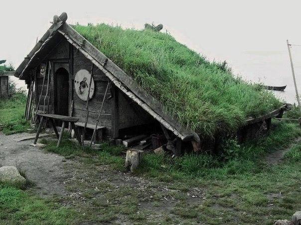 Живые крыши домов в Норвегии