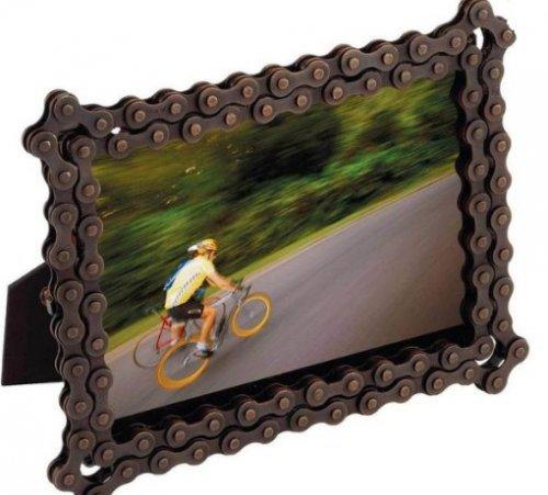 10 оригинальных идей использования велосипедных цепей