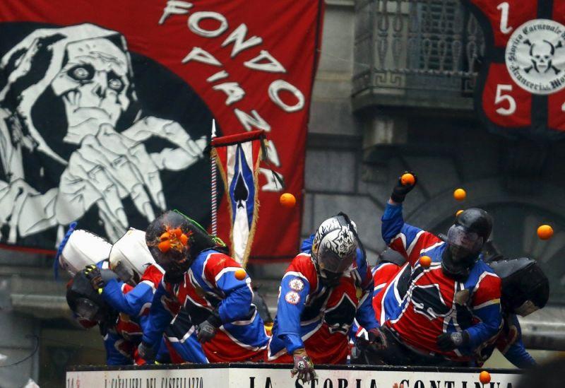Как прошел Carnival Battle в Северной Италии