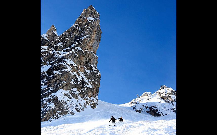 Опасные горнолыжные спуски
