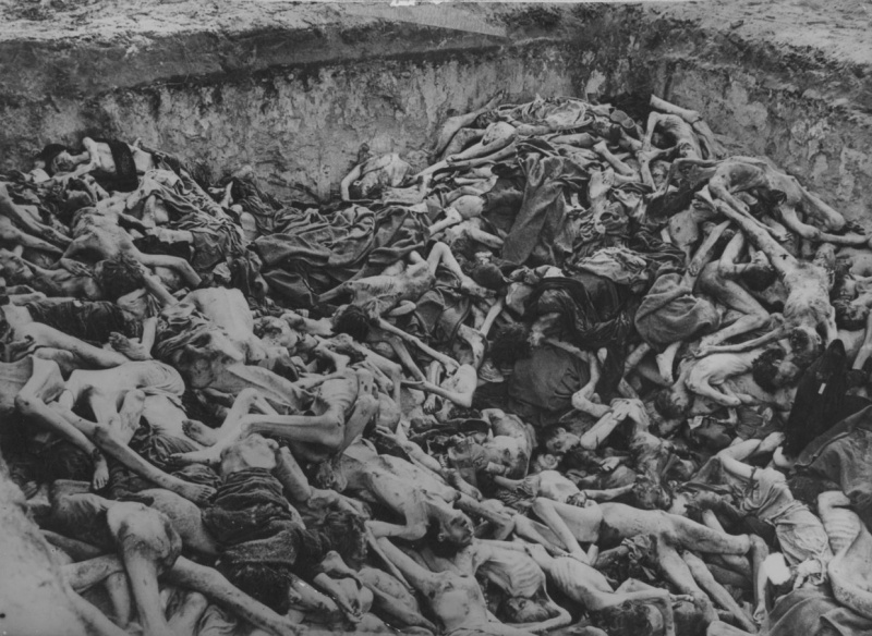 Освобождение концлагеря Берген-Бельзен на редких архивных фотографиях