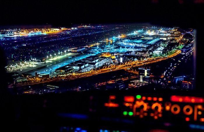 Потрясающий мир из кабины пилота