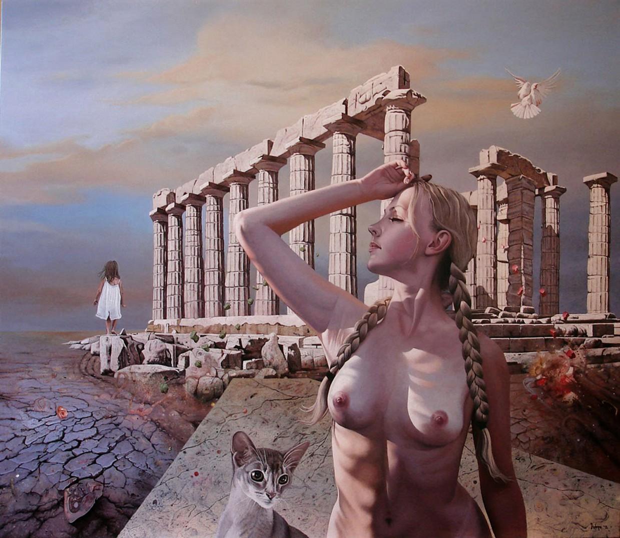 Символичные картины от Драгана Илича