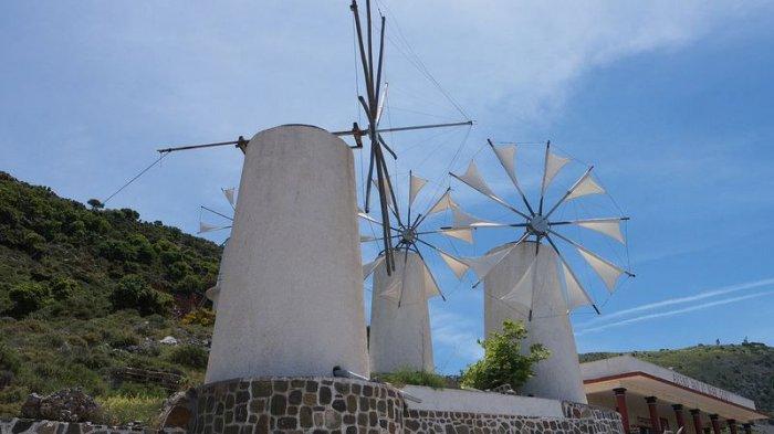 Долина тысячи мельниц на острове Крит