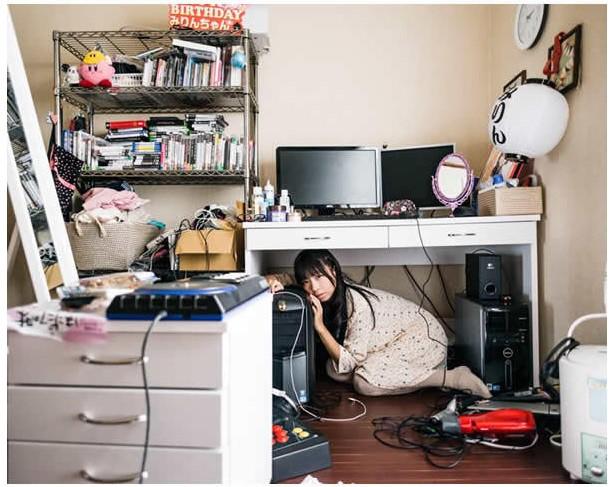 Комнаты японских девушек-отаку
