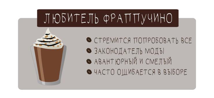 Что любимый кофе говорит о вашей личности?
