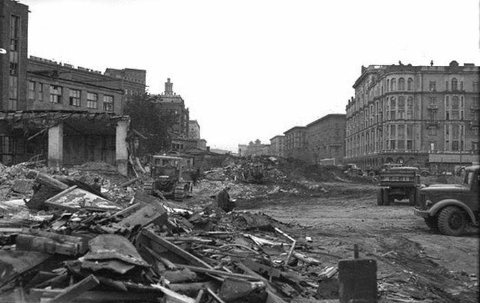 Деревенская Москва 50-х - 60-х годов XX века