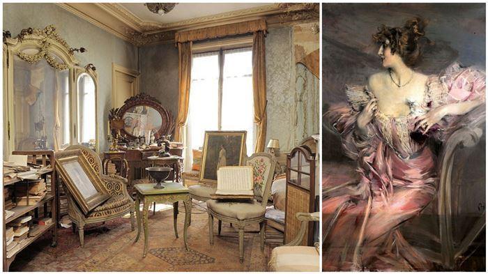 Парижская квартира, пустующая 70 лет