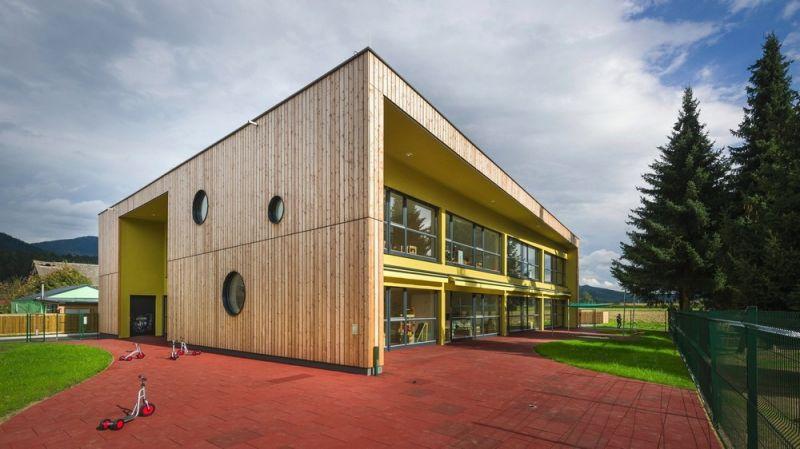 Современный детский сад в Словении