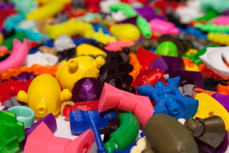 3D-принтер от Mattel напечатает любую детскую игрушку