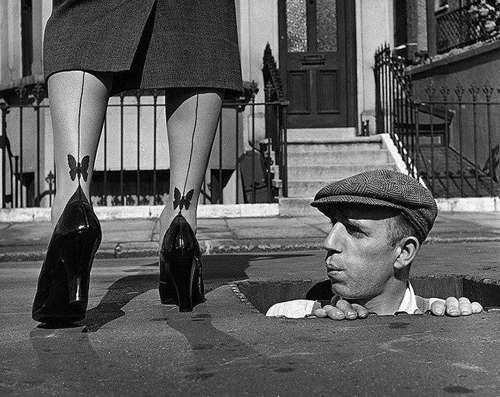 Гениальные фотографии середины прошлого века от Курта Хаттона