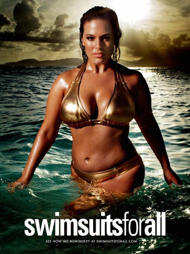 Модель плюс-сайз впервые на обложке Sports Illustrated