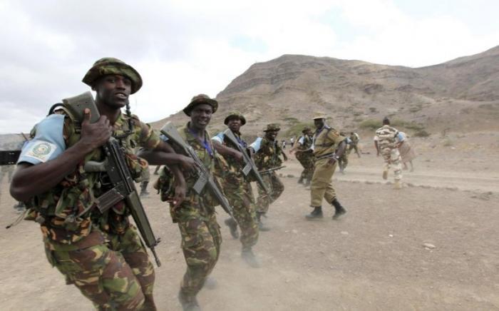 Военные учения в Африке