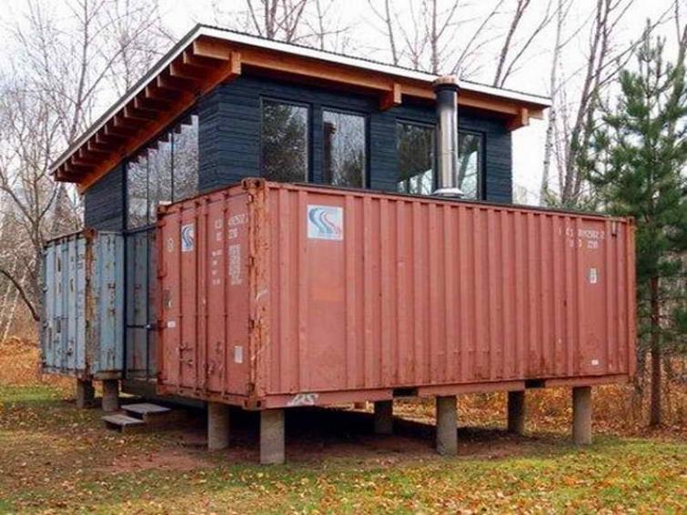 15 домов, построенных из морских контейнеров
