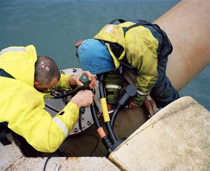 Большой подводный ветрогенератор в Великобритании