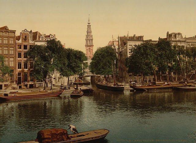 Европа на старых фотографиях и сейчас