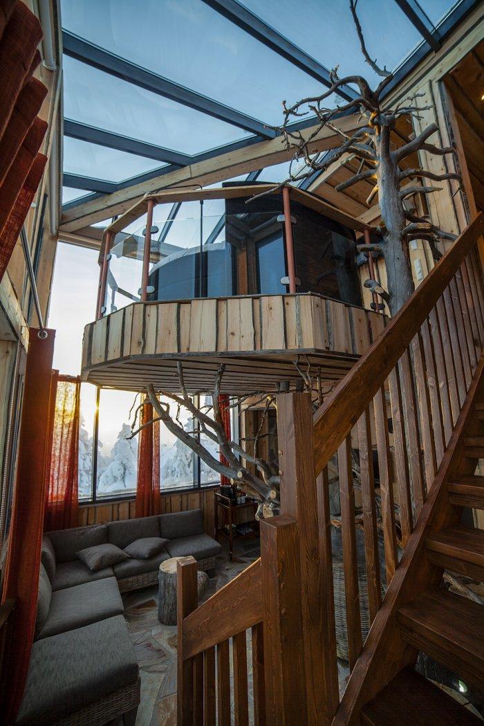 Финский обзорный люкс-отель «Eagle View Suite»