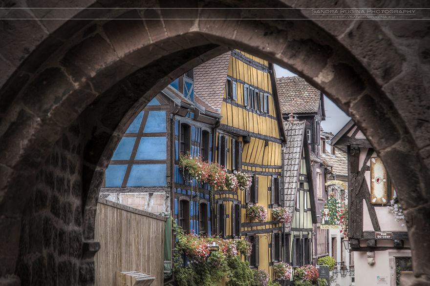 Крохотные сказочные населенные пункты Эльзаса