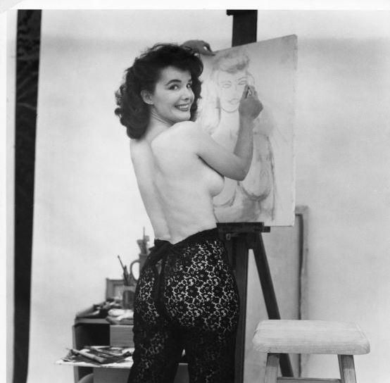 Сексуальные девушки из 50-х годов, которые побывали на обложках Playboy