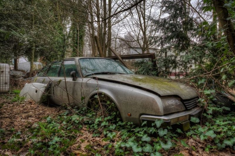 Мрачные машины, давно брошенные хозяевами