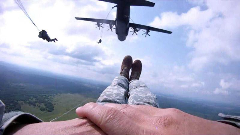 18 великолепных фотографий от американских десантников