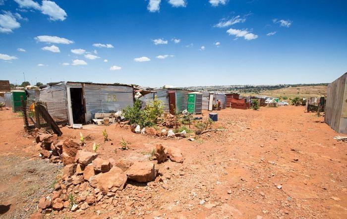 Лагерь белых в ЮАР
