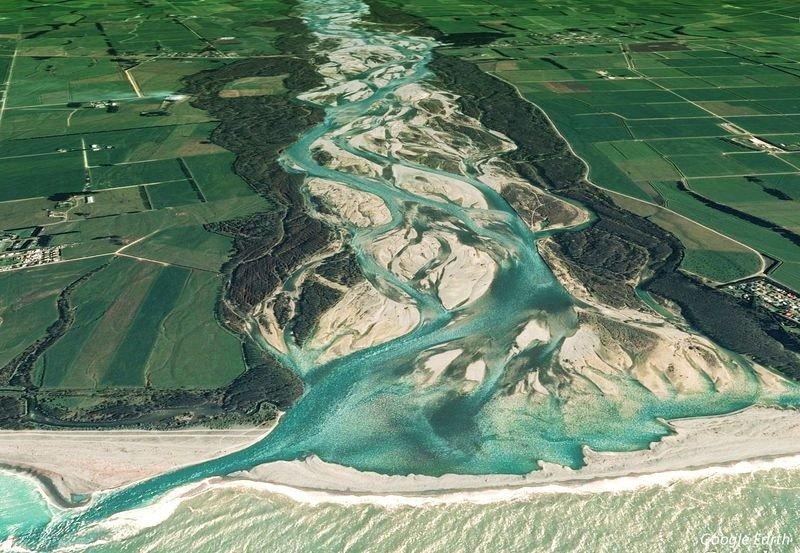 Магическое слияние плетеных рек со всего мира