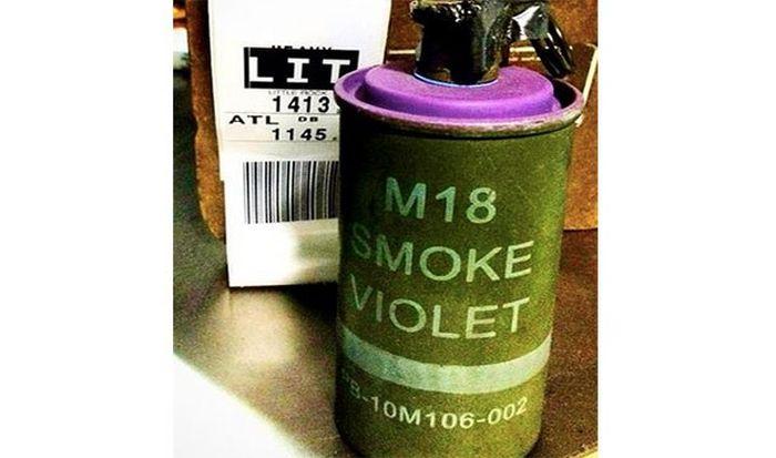 Запрещенные предметы, конфискованные в аэропортах США