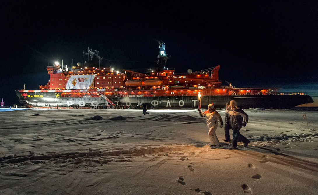 10 интересных фактов о российских ледоколах