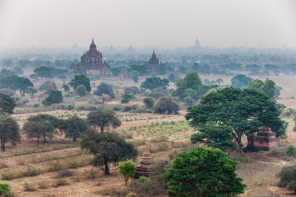 Древний город Баган — главная достопримечательность Мьянмы