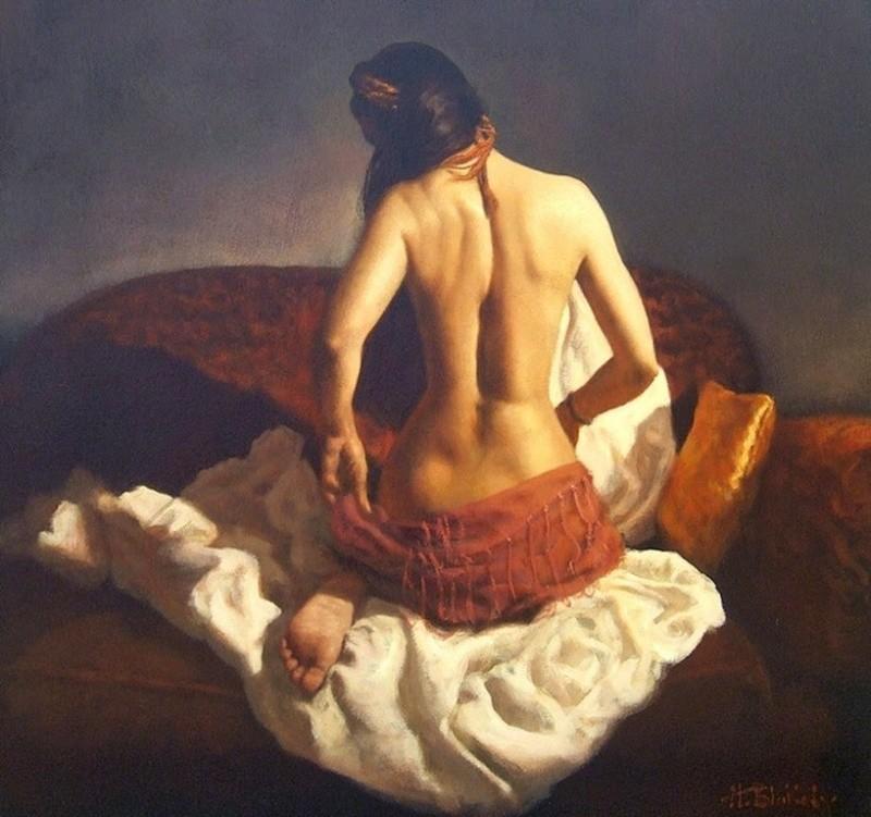 Нежные образы женщин в изобразительном искусстве