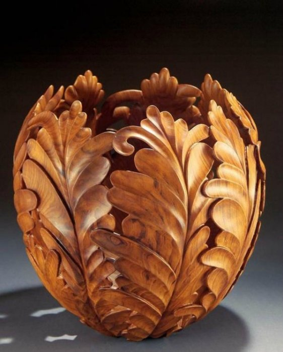 Потрясающие изделия из дерева