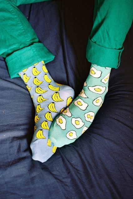 Прикольные креативные носки и чулки