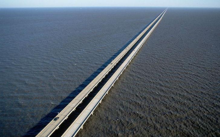 Самый длинный мост в мире – гордость Америки