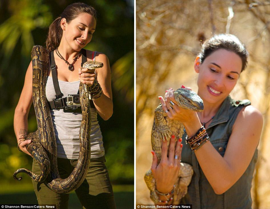 Смелая фотограф из ЮАР, с которой дикие звери становятся ручными