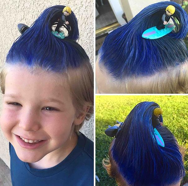 25 безумных детских причёсок