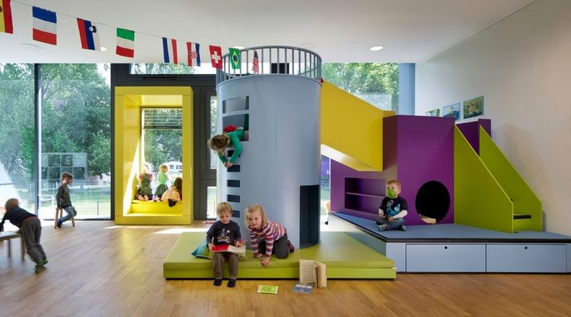 Необычный детский сад в Германии