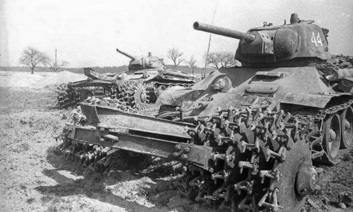 Минные тралы времен Второй мировой войны