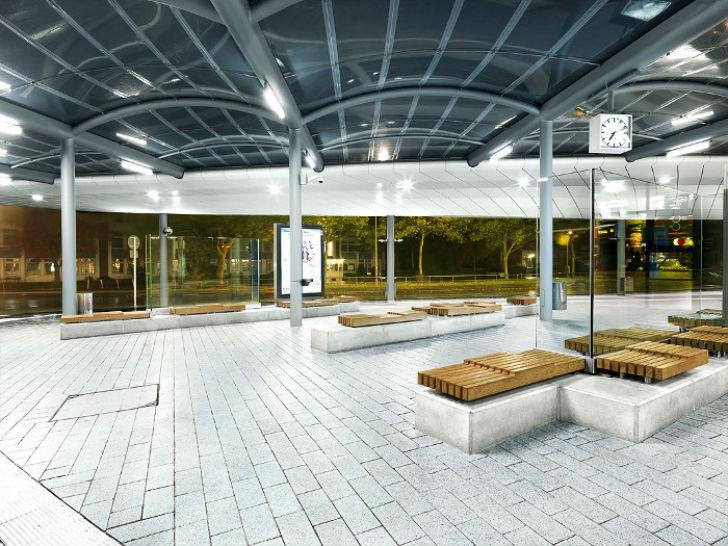 Необычные автобусные остановки, где захочется ждать автобус вечно