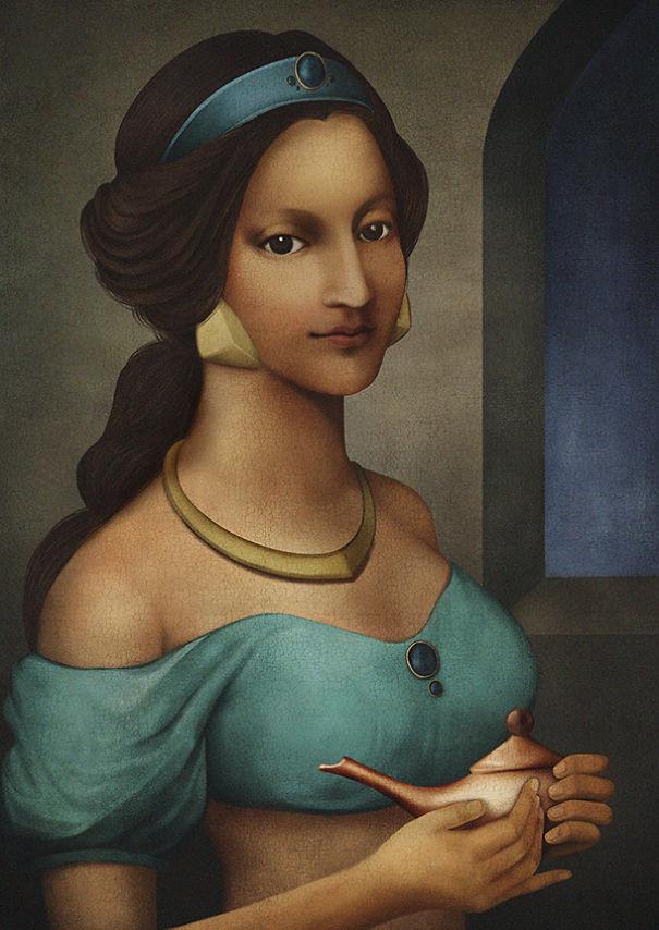 Принцессы Диснея в эпоху Ренессанса
