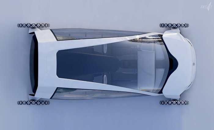 Экологичный концепт-кар Volkswagen RESeT