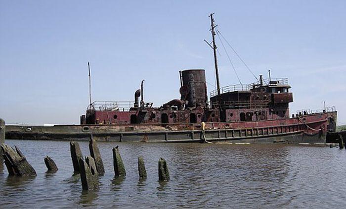 Кладбище кораблей в Джорджии