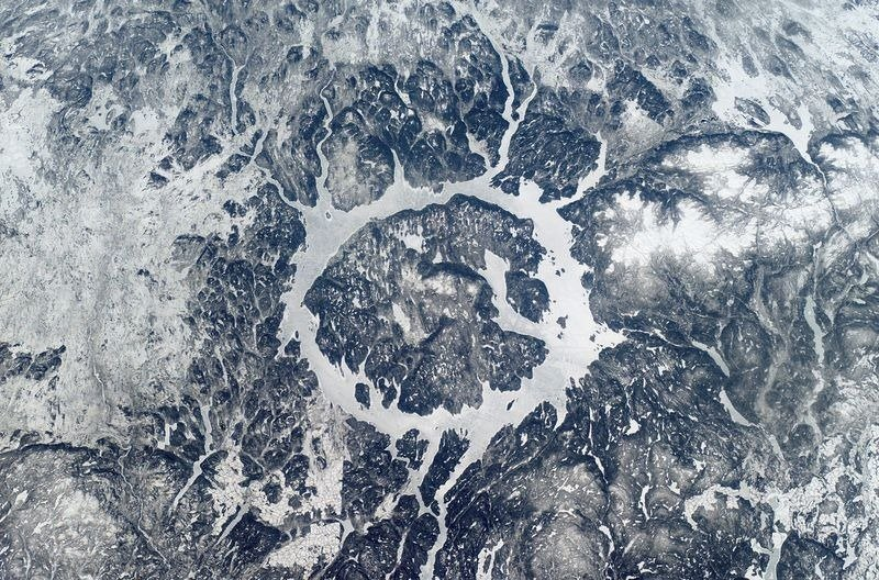 Самые впечатляющие ударные кратеры на Земле