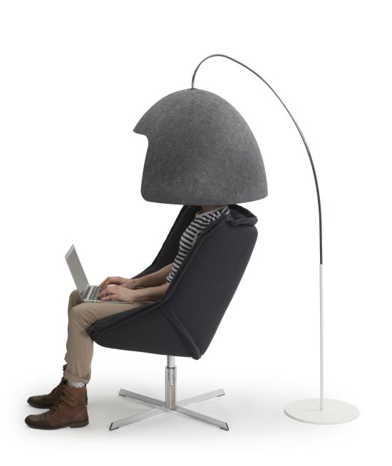 Офисный шлем - для тех, кому надоел шум в офисе